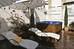 accesible hotel con encanto en Sevilla