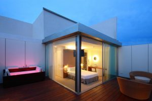 Hotel playero con encanto en Sitges