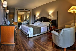 lujoso hotel romántico en la ciudad de Toledo