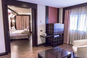 Hoteles con Hotel con encanto en Córdobajacuzzi en la habitacion