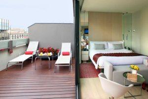 interesante hotel con encanto en Barcelona