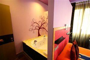 romántico hotel para dos en Madrid