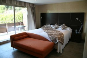 Elegante hotel playero con encanto a las afueras de Barcelona