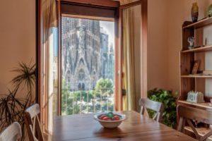 apartamentos románticos frente a la Sagrada Familia