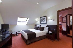 hotel de gran calidad ideal para parejas en Toledo