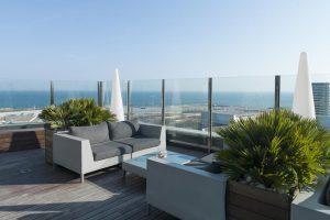 discreto hotel con encanto en Barcelona