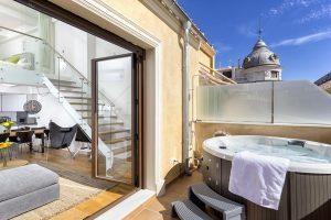 Apartamento de lujo con encanto en la ciudad de Málaga