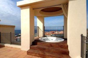 Encantador hotel con jacuzzi privado en la isla de Tenerife